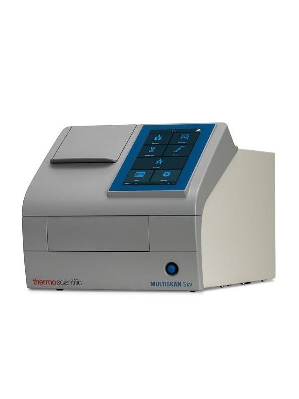 Fotómetro para microplacas Multiskan™ SKY con pantalla táctil y lector de cubetas