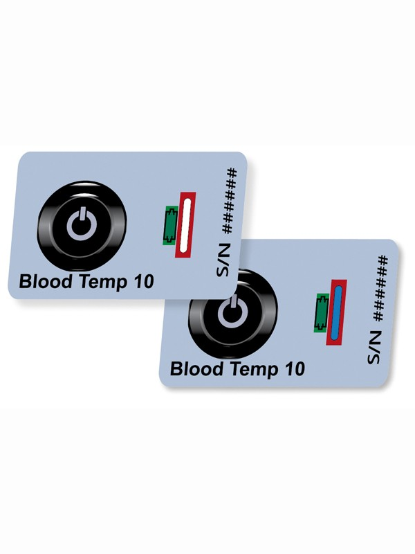 Indicadores de Temperatura para transporte de bolsas de sangre