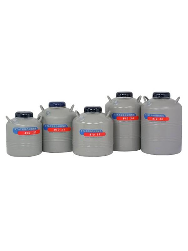 Contenedores de baja capacidad para almacenamiento de muestras en nitrógeno líquido