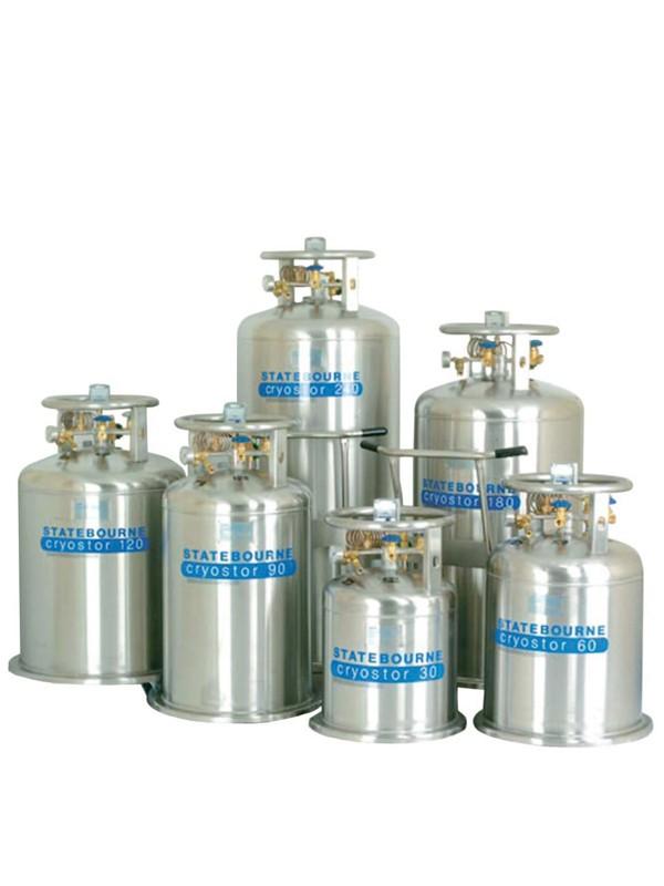 Contenedores para nitrógeno líquido
