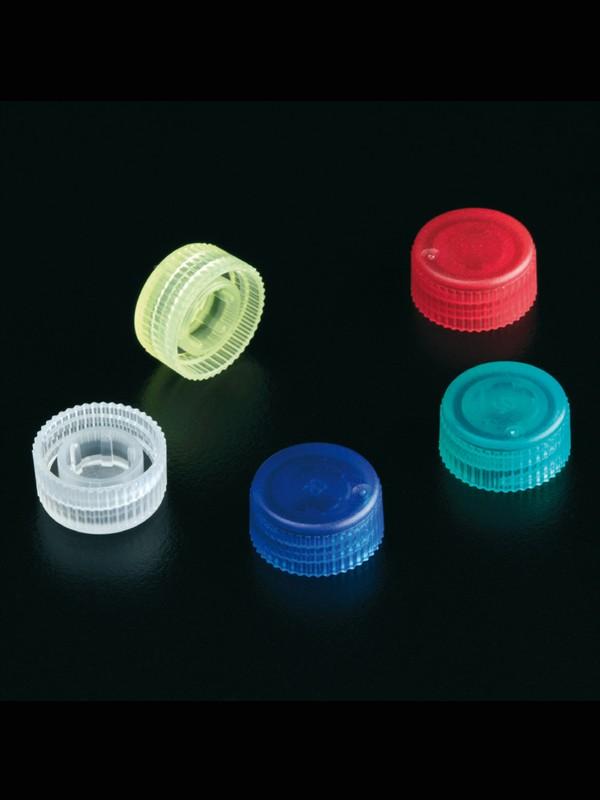 Tapones para microtubos a rosca