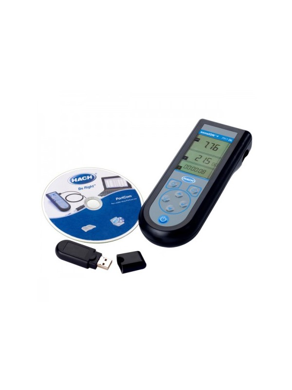 Medidor de pH portátil con data logger SENSION+ Ph1 DL