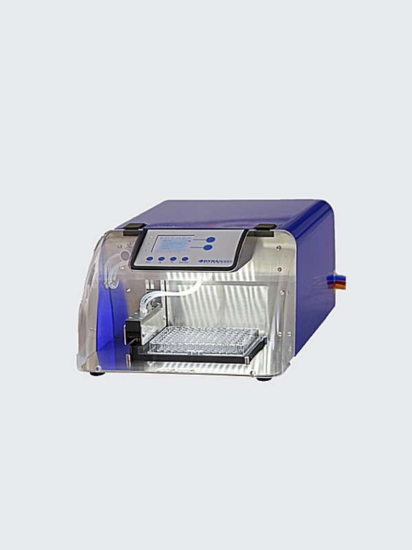 Lavador de microplacas DYNAWASH Automatic con cabezal de 8 o 12