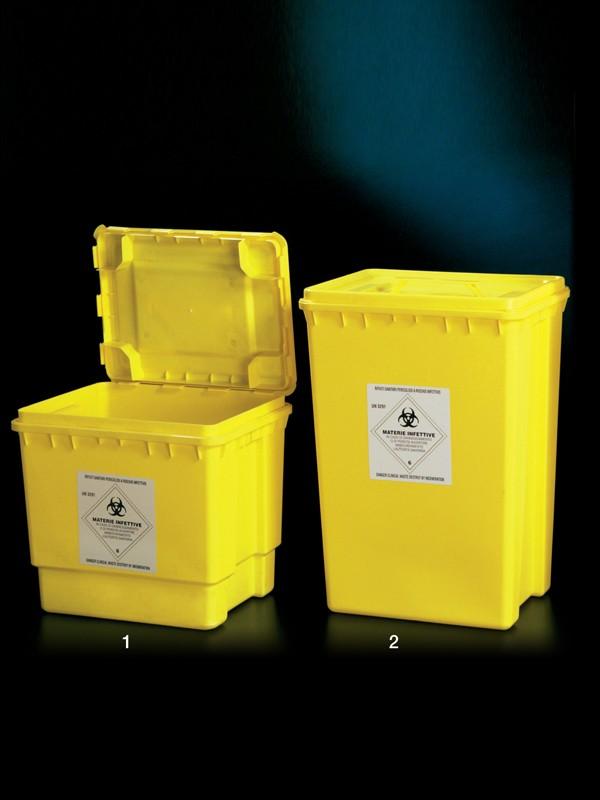 Contenedores en PP para residuos