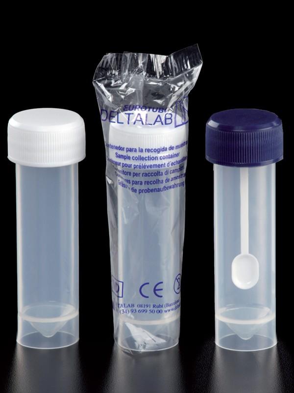 Frascos 30 ml (25 x 90 mm) en polipropileno