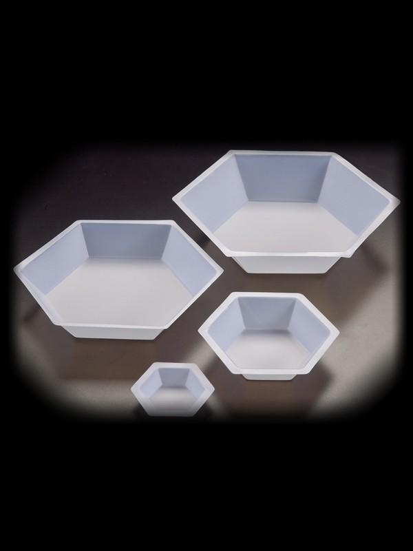 Bandejas hexagonales para pesar